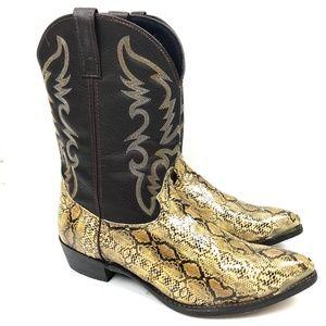 Laredo Mens Monty Western Cowboy Boots 15 EW